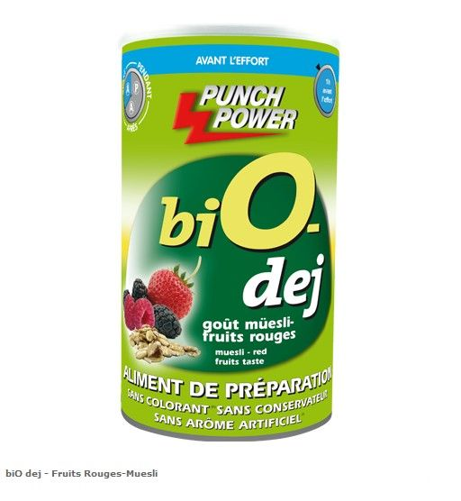 L'ALIMENT DE PREPARATION BIO-DEJ, Goût mësli - fruits rouges