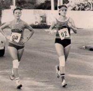 La course hors stade féminine
