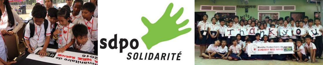 Banderole humanitaire Ultra Trail d'Angkor - news SDPO